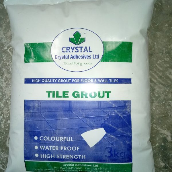 Crystal Tile Grout 1 Kg