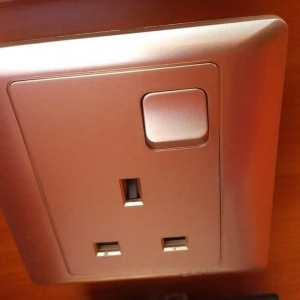Metallic Single Socket
