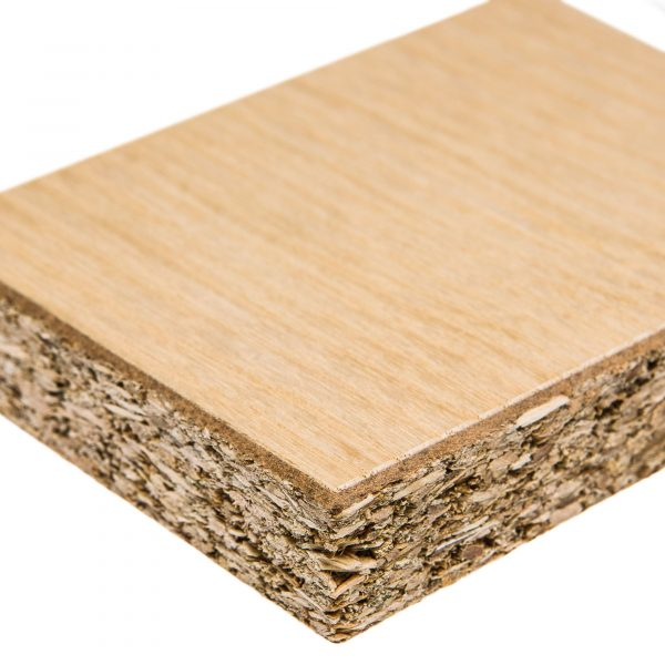 Chipboard Veneer single side 8ft x4ft x18mm
