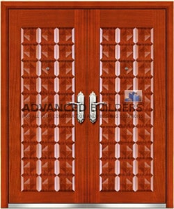 reinforced security steel door WB1 1500mm