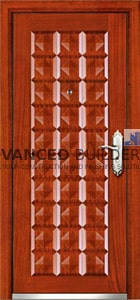 reinforced security steel door WB1 950mm