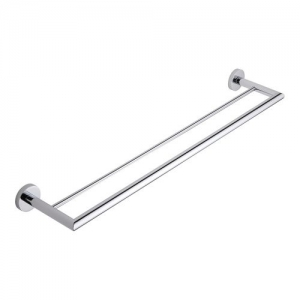 Stainless Steel Double Bar Towel Holder