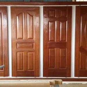 Panel Solid Door Special Size Mahogany