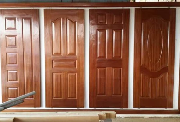 Panel Solid Door Special Size Mahogany