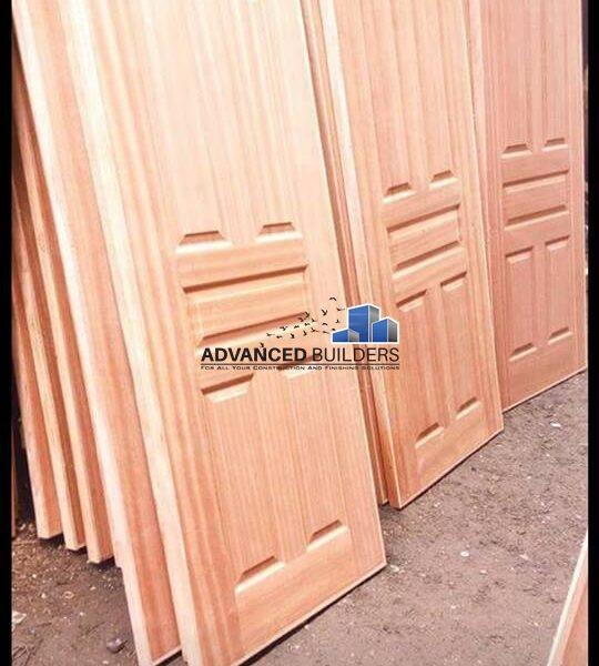 Panel doors mahogany
