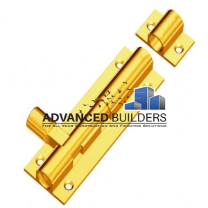 Tower bolt 2 inch brass
