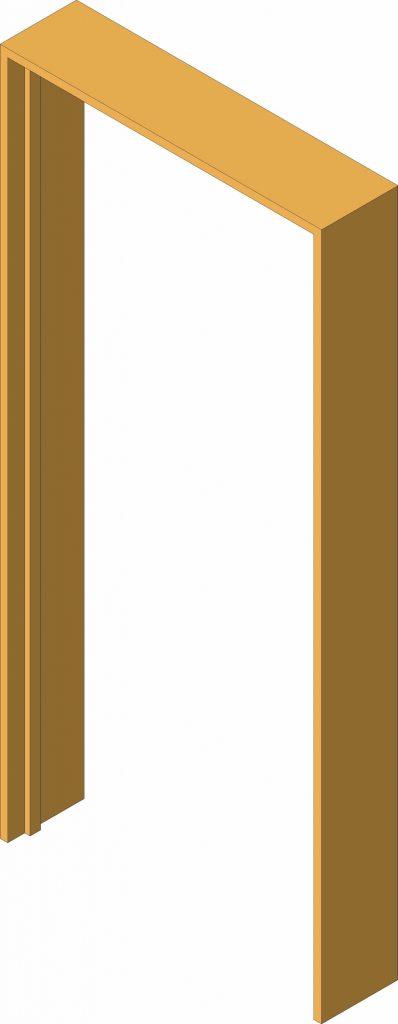 Cypress Door Frame 4x2 Standard Size