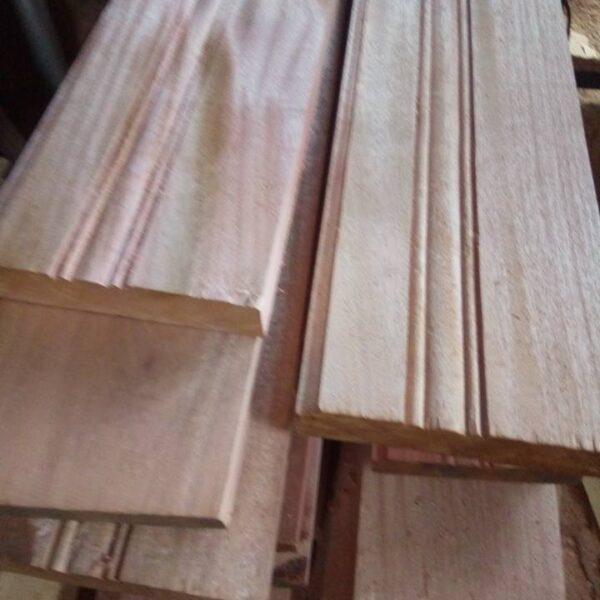 mahogany skirting