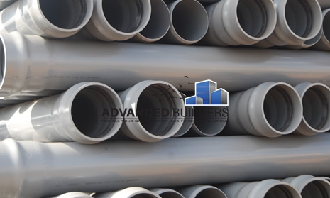 PVC Waste Pipes 4""