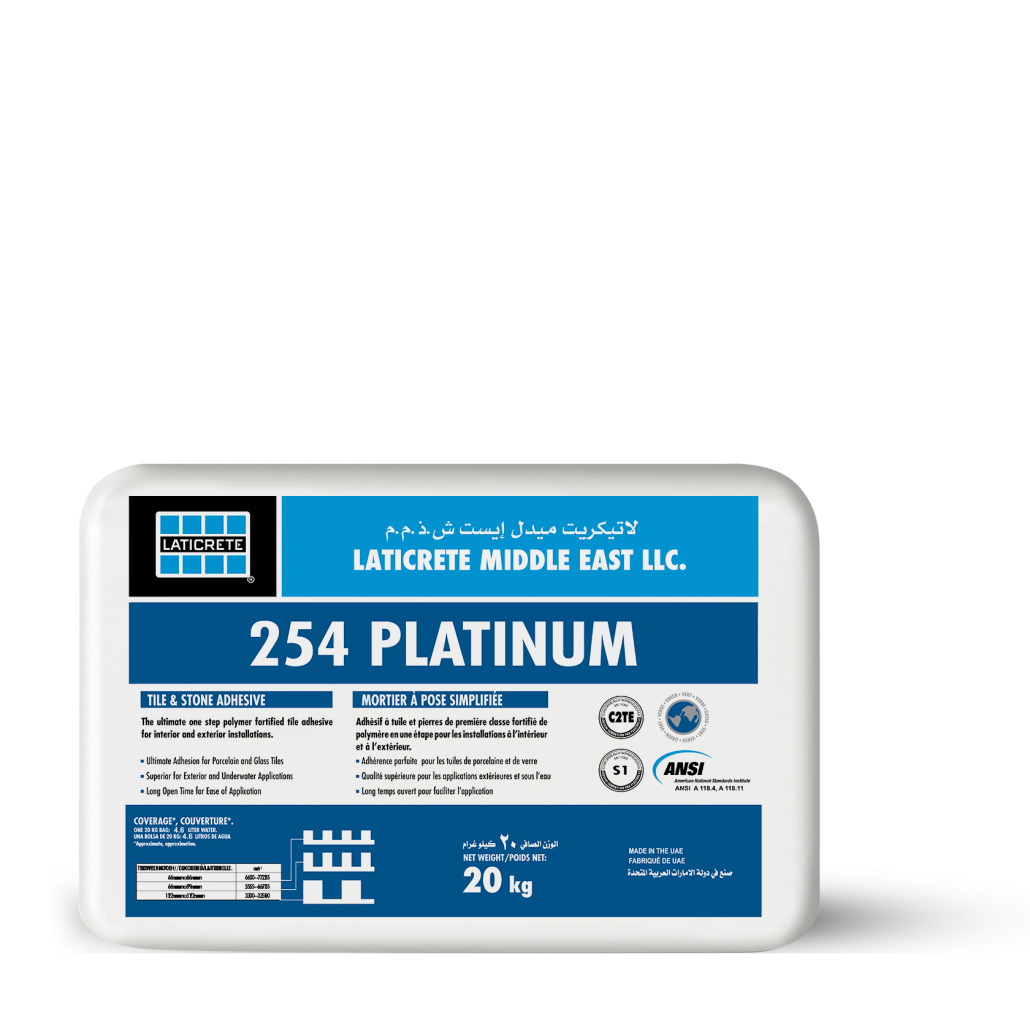 Laticrete 254Tile Adhesive Cement 20 Kg