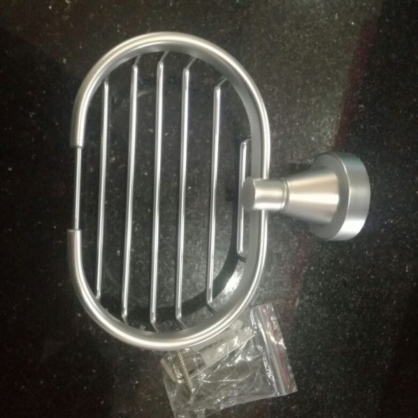 Stainless Steel Soap Dish Round Shape