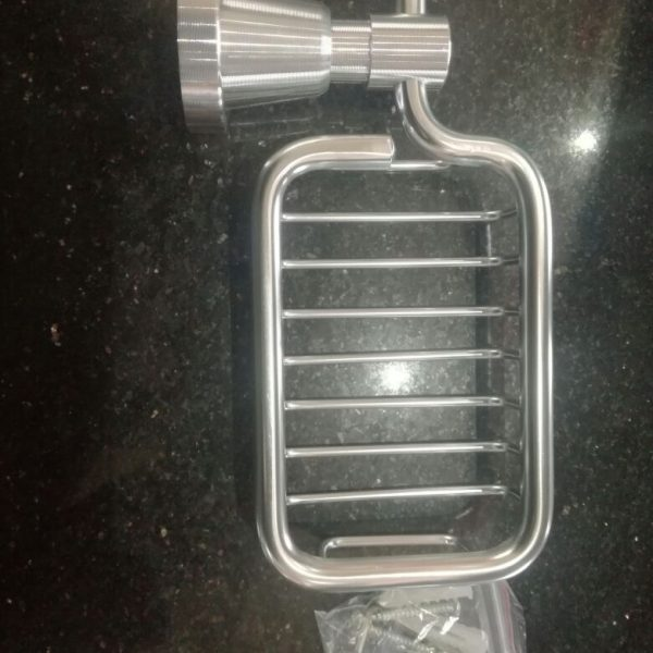 Stainless Steel Soap Dish Square Shape