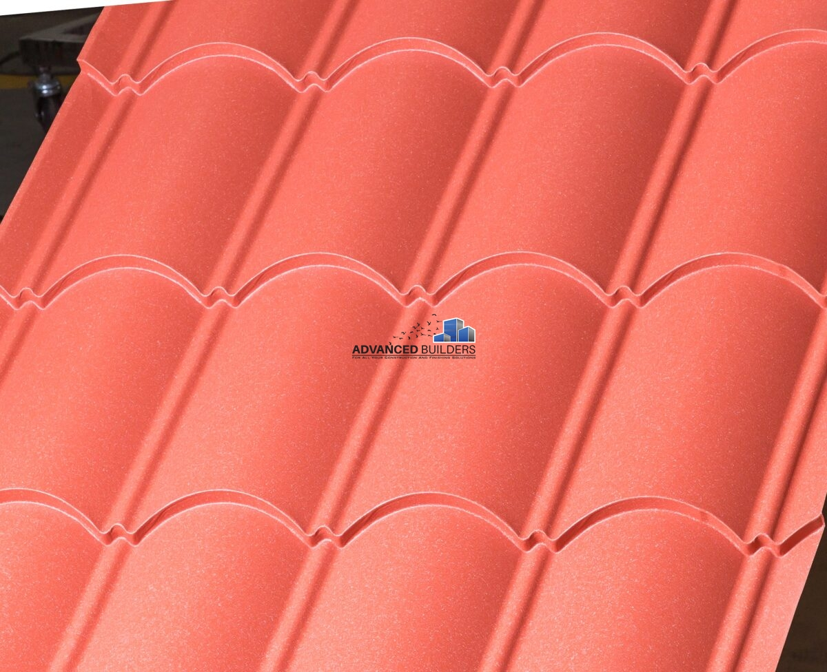 Top Roof Roma Profile 0.32mm Red