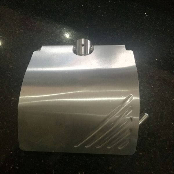 Stainless Steel Tissue Holder with Flap