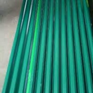 Corrugated Coloured Iron Sheet 2.5 Meters Green