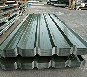 IT4 Box Profile Iron Sheet 2 meters Green