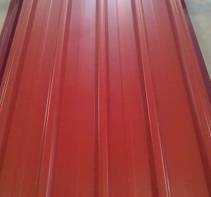 IT4 Box Profile Iron Sheet 3 Meters Tile Red