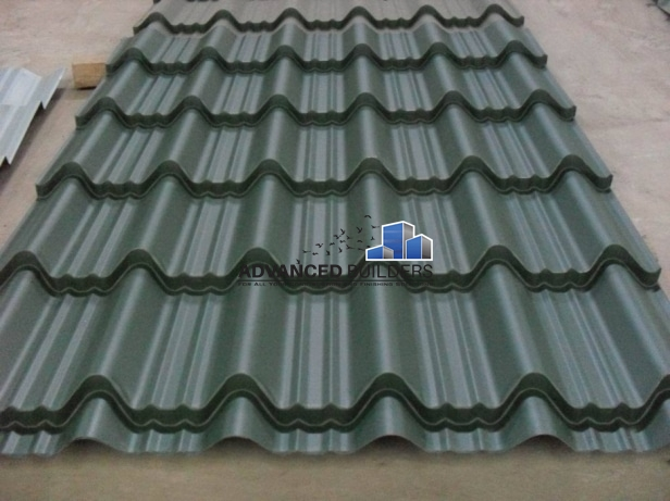 Versatile Iron Sheet 2 Meters Charcoal Grey