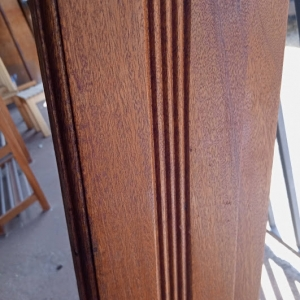 Mahogany Door Frame 8x2 With Vent