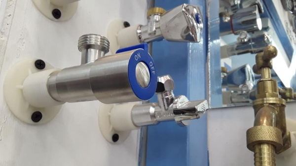 Brimix angle valve