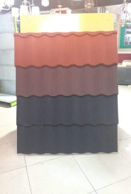 Stone coated steel roofing tile Classic Profile