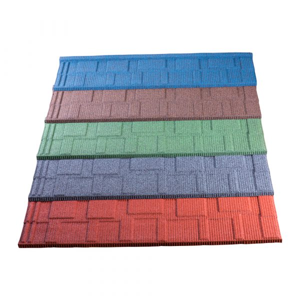 Tactile Stone Coated Steel Roofing Tiles