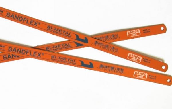 Sandflex hacksaw blade