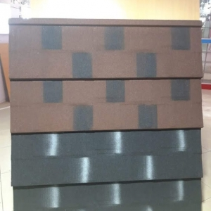 Stone coated steel roofing tile Shingle Profile