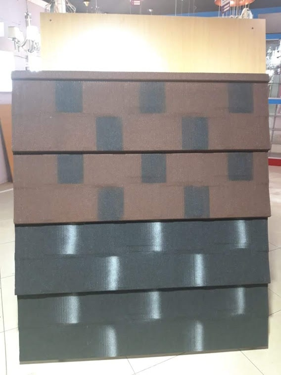 Stone coated steel roofing tile Shingle Profile