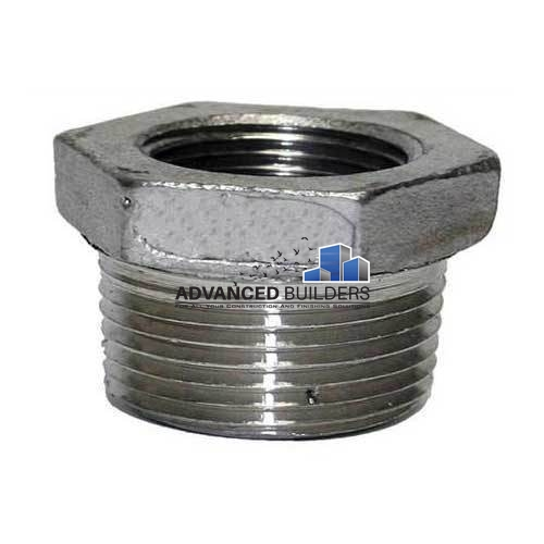 Galvanized Iron Fittings Gi Reducing Bush 3 4 X 1 2