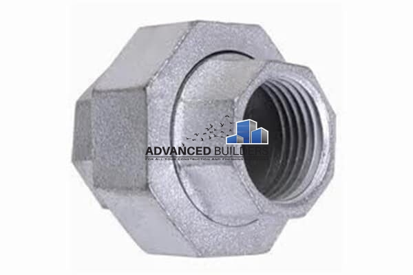 Galvanized Iron Fittings Gi Union 1