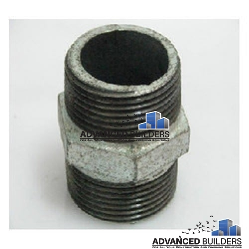Galvanized Iron Fittings Gi Hex Nipple 3 4