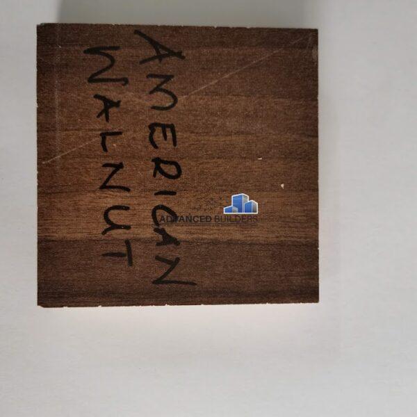 Advanced Builders MDF Board 18 mm American Walnut
