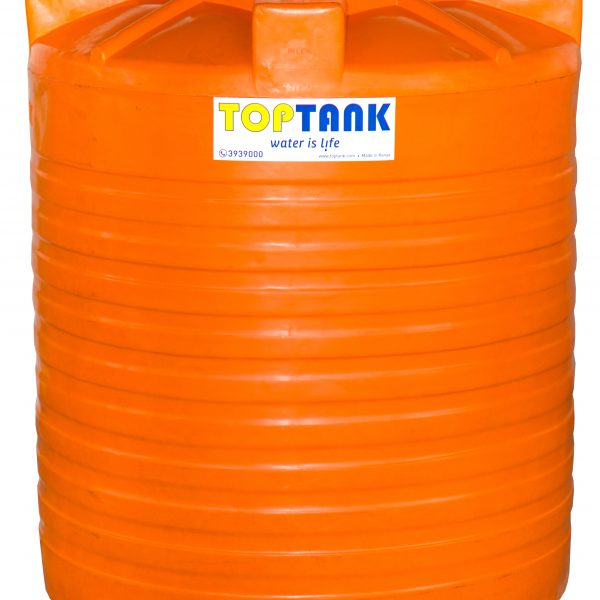 Standard Cylindrical Tank Orange